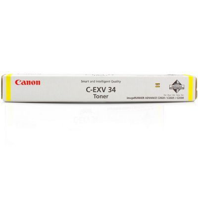 Тонер Canon C-EXV34 для iRC20xx/iRC22xx, Yellow (3785B002)