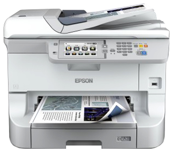 МФУ А3 цветное Epson WorkForce Pro WF-R8590DTWF (C11CE25401)