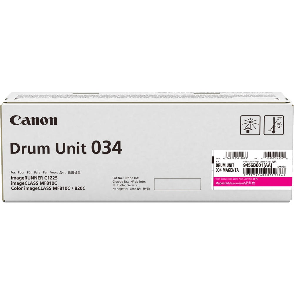 Фотобарабан Canon Drum Unit C-EXV034 для iRC1225, Magenta (9456B001)