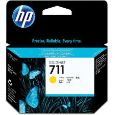 Картридж HP 711 для DJ 120/520 Yellow, 28 мл (CZ132A)