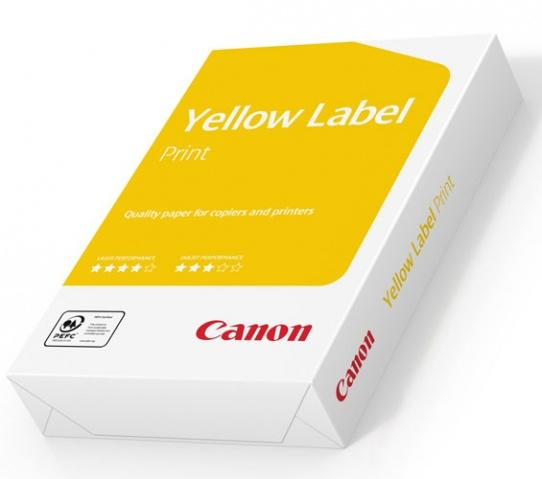 Бумага  A4 CANON Yellow Label Paper 80 г/м2, 500 арк. (5897A022)