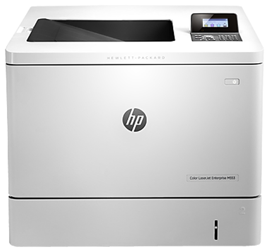 Принтер А4 цветной HP LaserJet Enterprise M553dn (B5L25A)