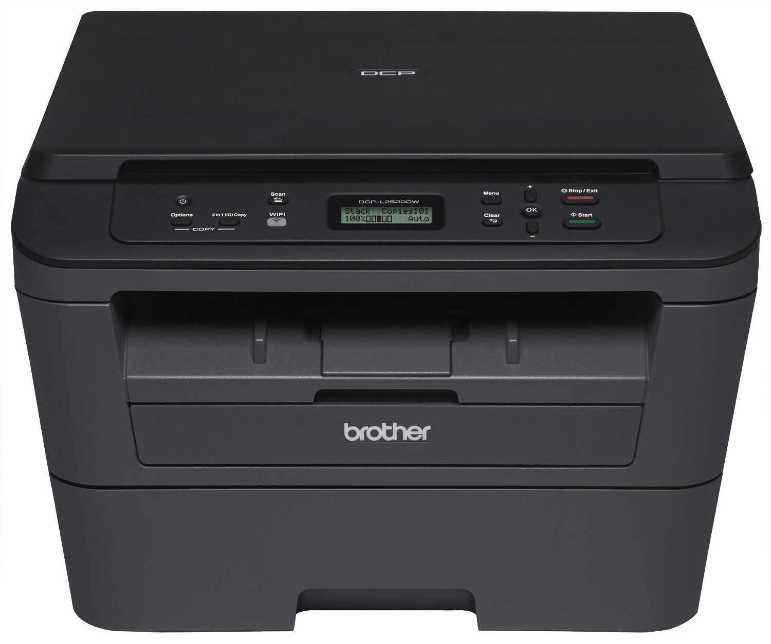 МФУ А4 монохромное Brother DCP-L2520DWR (DCPL2520DWR1)