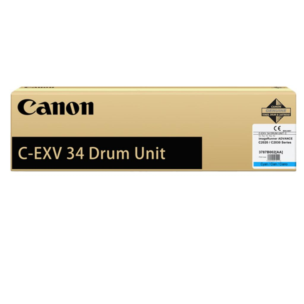 Фотобарабан Canon Drum Unit C-EXV34 для iRAC20xx, Cyan (3787B003)