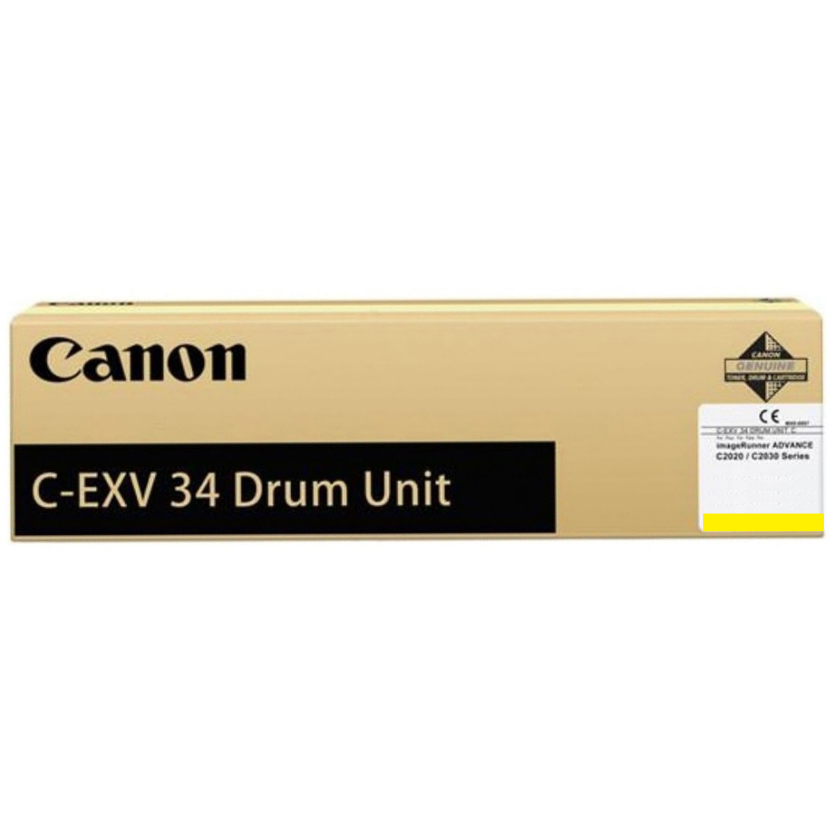 Фотобарабан Canon Drum Unit C-EXV34 для iRAC20xx, Yellow (3789B003)